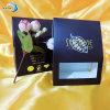 Alta qualidade Black Paper com PVC Window Box para Chocolate