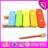 2016 nuevo piano de juguete de madera, de madera educativo de música de juguete, Miusical juguete para niños, preescolar Música de juguete de madera W07c042