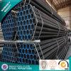 Reg negro Tubo de acero soldado de tubo de acero templado
