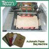 Máquina Parte-Pegada automática de alta velocidad del saco del papel del cemento