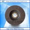 Roda de aleta abrasiva com alumínio fundido novo projetado