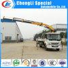 新しいDesign Dongfeng 4*2 Grapple Crane Truck 5tons
