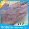 Tarjetas claro transparente, transparente esmerilado de tarjetas, tarjeta de PVC transparente