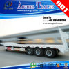 3 Axis Steel Spring Ladder Low Platform Trailer Truck