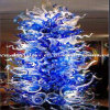 Design speciale Blue Tree Glass Sculpture per Decoration