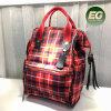 Projeto Jovem mochila de colisão de cores da moda bolsas de couro Emg5303