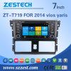 Automobile speciale DVD GPS dello schermo di tocco di Zestech Capatative per Toyota Vios 2014