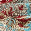 Популярная ткань с тканью большого синеля формы цветка новой для занавеса