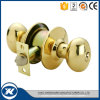 MessingEdelstahl-zylinderförmige Tür-Drehknopf-Innenverschlüsse