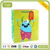 Cumpleaños de dibujos animados de color verde la tienda de juguetes ropa bolsas de papel de regalo