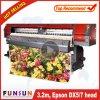 Funsunjet fs-3202m 3,2 m de l'imprimante grand format pour deux tête DX