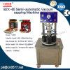 Máquina de nivelamento de vácuo semiautomático para colagem de feijão (BZX-65)
