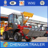 Il CE ha certificato il mini caricatore della rotella da 1.5 tonnellate