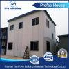 Дом одиночной палубы двойника крыши наклона Prefab для работы
