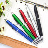 Whosale Multicolor plastic ball POINT Pen with screen Touch for graduation (LT-Y013)