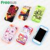 Telefono Caso Freesub sublimazione Stampa con copertura del silicone per iPhone5