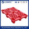 Le côté simple a percé la palette en plastique empilable faite par HDPE à vendre
