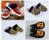Shoesfabric Zubehör chinesisches Borcade bereift chinesische handgemachte Schuhe