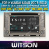 Witson Car DVD para Hyundai Iload Car 2007-2012 DVD GPS 1080P DSP Capactive Screen WiFi 3G Front DVR Camera
