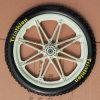 Pneumático contínuo do pneu da espuma da borracha/Pneumatic/PU com roda plástica 10  12  14  16  20