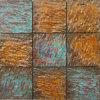 Crescenti mattonelle di mosaico di rame rustiche per Deco domestico (CFM1086)