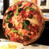 Kussen het van uitstekende kwaliteit van de Pizza van de Pluche van de Douane vulde Zacht Stuk speelgoed