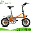 E-Велосипеда 14 Ebike Al-Сплава Bike миниого быстро складного '' складывая электрический