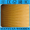 3/4' línea recta madera contrachapada de la teca con base del álamo/de la madera dura