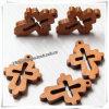 Small all'ingrosso Wall Decor Wooden Crosses per Decoration (IO-cw004)
