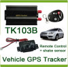 Car GPS Tracker GPS103A, GPS103b Controlador remoto GSM GPRS GPS Based Tracking Web Server