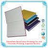 Precio de fábrica reciclado de la impresión del cuaderno espiral de la cubierta de los PP del cuaderno