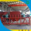 Pneu de rebut réutilisant la machine au défibreur en caoutchouc de pneu de production de poudre