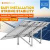 Sistema leggero del montaggio di comitato solare di PV con i comitati solari 3PCS