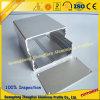 Perfil de alumínio do CNC para a caixa do pó