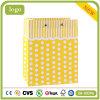 Polka Dot шаблон желтого цвета одежду магазин подарков бумажных мешков для пыли