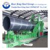 API 5L X42-X70 LSIP1 LSIP2 Tuyau en acier soudé en spirale utilisé pour les pipelines de gaz d'huile liquide
