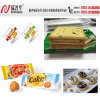 Machine à emballer à grande vitesse pour le beignet/pain/biscuits