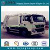 Carro de basura trasero del compresor del cargamento de HOWO 4X2 para la venta