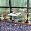 В ресторане из нержавеющей стали мебель стол стул для продажи