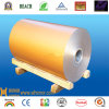Color Aluminum Coated Coil con Low Price - PVDF-Golden