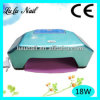 18W Professional Two Hands Nail Gel DEL Lamp UV