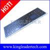 タッチパッド、機能キーおよび数字キーパッドが付いている電気版の黒く険しいステンレス鋼キーボード