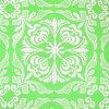 刺繍の綿のネットの刺繍のレースファブリック(GF1012)