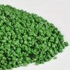 Particules en céramique de couleur verte pour la route, anti route de dérapage