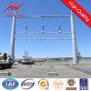 Construção de aço de apoio da transmissão de potência de 35 quilovolts