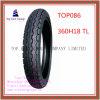 Qualität, schlauchloser Motorrad-Reifen des Nylon-6pr mit Zeitlimit 360h18