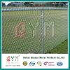 Großhandels-Belüftung-überzogener Kettenlink-Zaun für Sport-Bereich