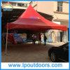Напольный шатер шатёр высокого пика PVC стальной рамки красный
