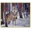 Pintura al por mayor del arte de la alta calidad, pintura al óleo de la decoración, pintura casera de la decoración (Y070)