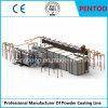 Linha de revestimento do pó para as seções de alumínio do pulverizador com boa qualidade